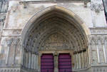 Gothic Arch, Timpanum Depicting The Last Judgement by aegiandyad