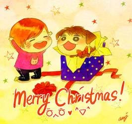 Shinee - Merry Christmas by aaaarghhhhhhh
