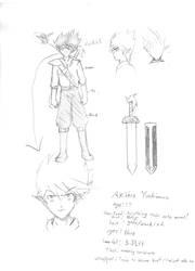 Akihiro Yoshimura design by AnimationsByRobert