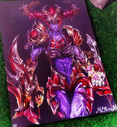Shyvana- The Half Dragon (League of Legends) by Mel-Heaven
