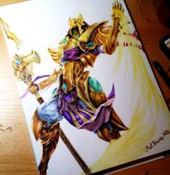 Azir (League of Legends) ^-^ by Mel-Heaven