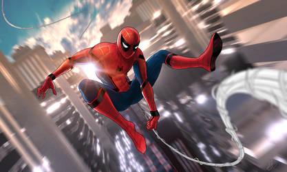 Spider-man: homecoming by vitalik-smile