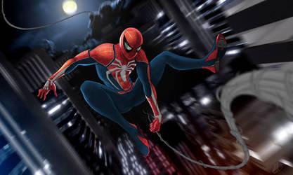 Spider-man Playstation 4 by vitalik-smile