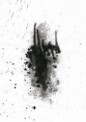 Ink Splatter 09 by Loadus