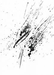 Ink Splatter 10 by Loadus