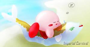 Sleeping Kirby by ImperialCarnival