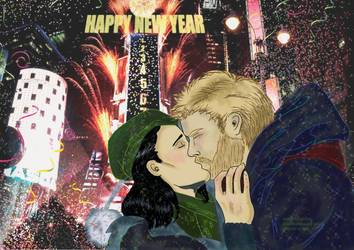 New Year 17 Thorki by Serena-4