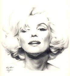 Marilyn Monroe by Ethan-Carl