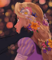 WIP Tangled by onewingedtenchi