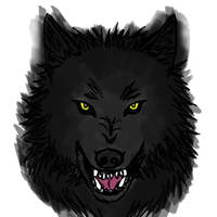 Snarling Beast by zulas-apperentice