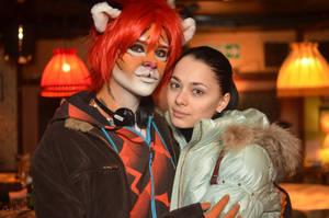 Tiger Joshua and Bast Miriam by MiriamBast