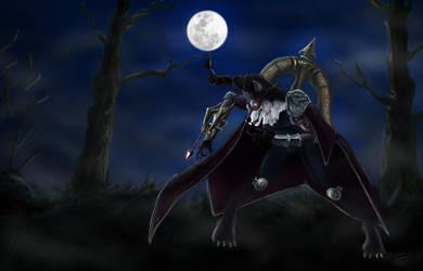 Werewolf Vayne by Naelsabra