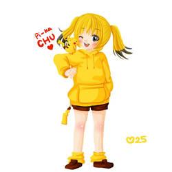 pikachu by 649pokemonchallenge