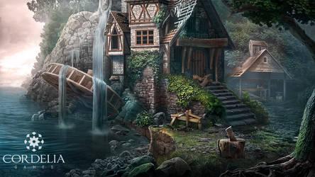 Waterfall by ameli-lin