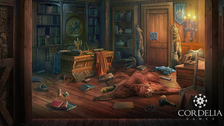 Father's room by ameli-lin