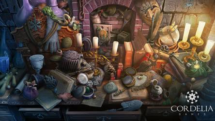 Hidden object scene by ameli-lin