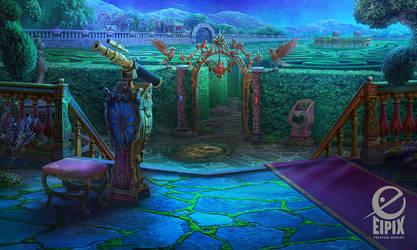 Garden labyrinth by ameli-lin