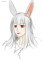 [Sketch] Fanart: Tash by Undeciria