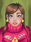 Mabel Pines by Helsic