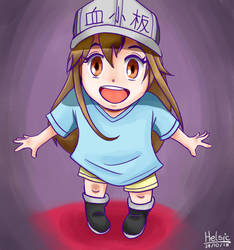 cute Platelet by Helsic