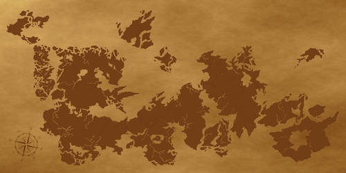 The Map of Dracnheim by Stahlorn
