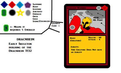 MSPAINT Planning for Dracnheim TCG by Stahlorn