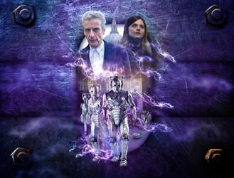 DOCTOR WHO Cybermen Series 8 Finale by Auton710