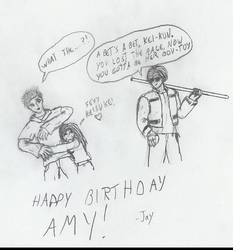Amy's birthday present by RaceConvoy
