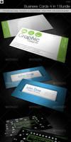 Business cards 4 in 1 Bundle by HollowIchigoBanki