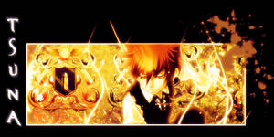 tsuna sign by Malou1381