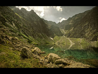 The Black Lake I by Beezqp