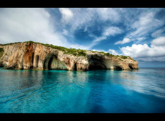 Blue Caves by Beezqp