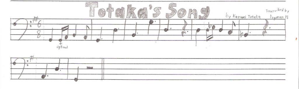 Totaka's Song by Dogman15