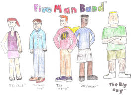 Five Man Band by Dogman15