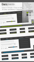 Darcments - Clean n'Simple Web by ekanz