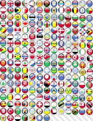 Flag Orbs of the World by BlueCup