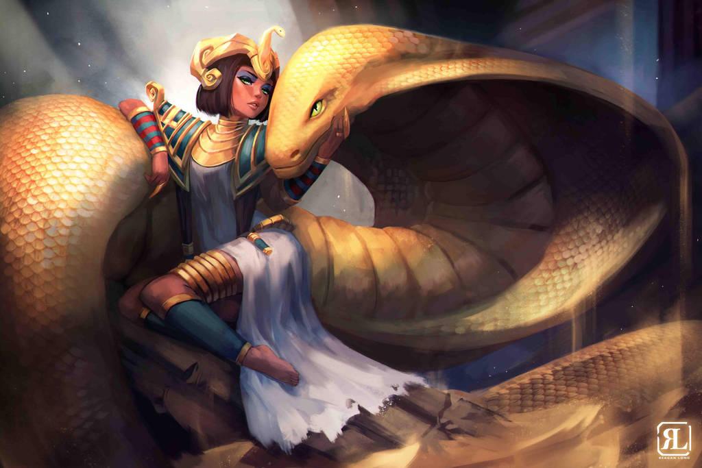 Snake Queen by ReaganLong