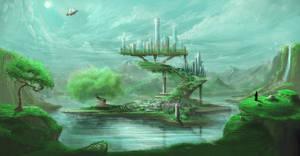 Fantasy Island by Ran-D