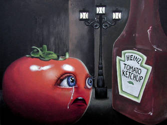 Sad, Sad Tomato by annableker