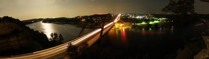 Pennybacker Bridge by annableker