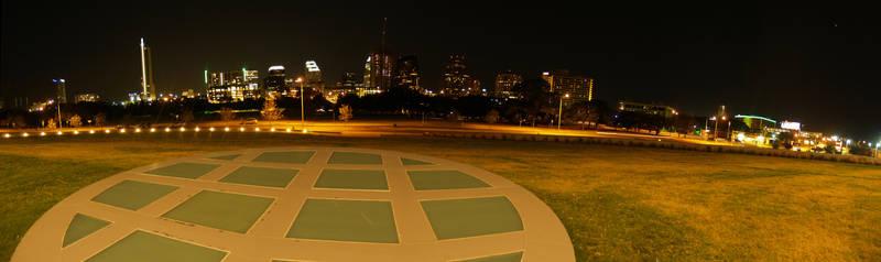 Long Center and Austin Skyline by annableker