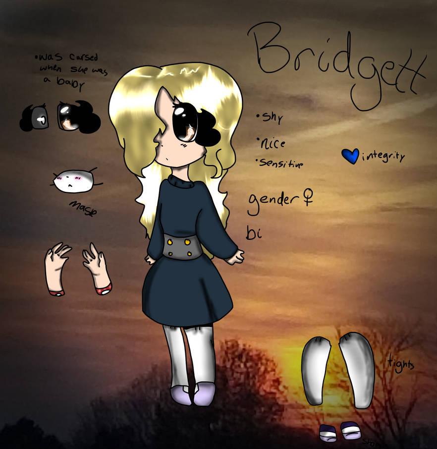 Bridgett Oc reference by LoaflyKatrina