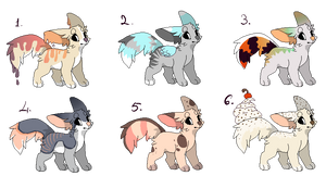 Dog Adoptables (CLOSED) by AdoptablesForWorld