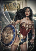 Wonder Woman-Princess Diana COMMISSION by MLauviah