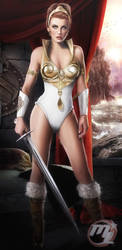 Teela from He-man COMMISSION by MLauviah