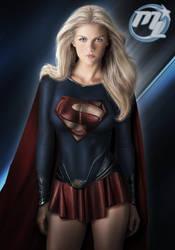 Supergirl by MLauviah