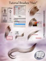 Tutorial HAIR PAINTING Photoshop by MLauviah