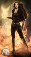 Dark Phoenix by MLauviah