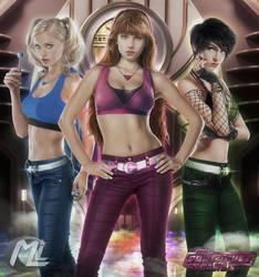 The Powerpuff Girls 2014 by MLauviah