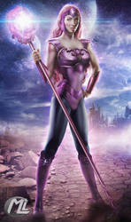 Glimmer, Friend of She-ra by MLauviah